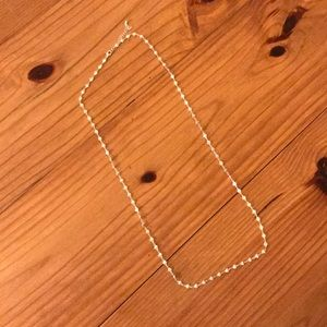 ON SALE!! Silver necklace